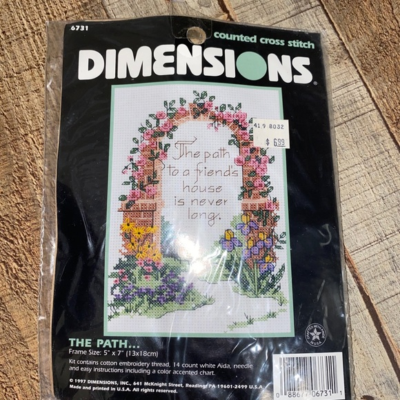 Dimensions The Path Counted Cross Stitch Kit
